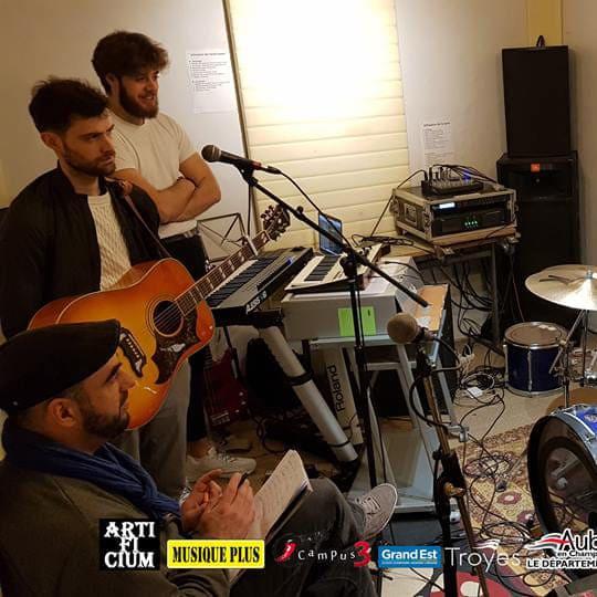 Atelier Répétition avec: DIAZ