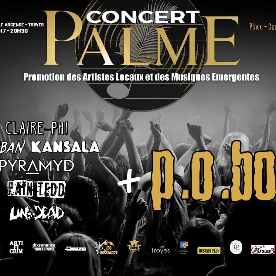 Concert Palme 2017 avec P.O. Box