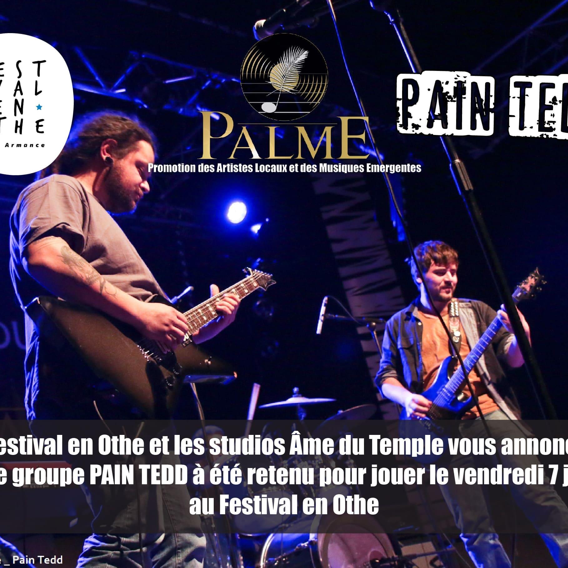 Pain Tedd au Festival En Othe 2017